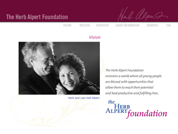 The Herb Alpert Foundation