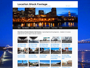 Location Stock Footage - Customized CMS Design for E-Commerce