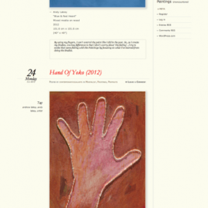 """Contemporary Visual Arts"" Blog"