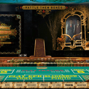 Big Bad Voodoo Daddy microsite, for the 2012 album