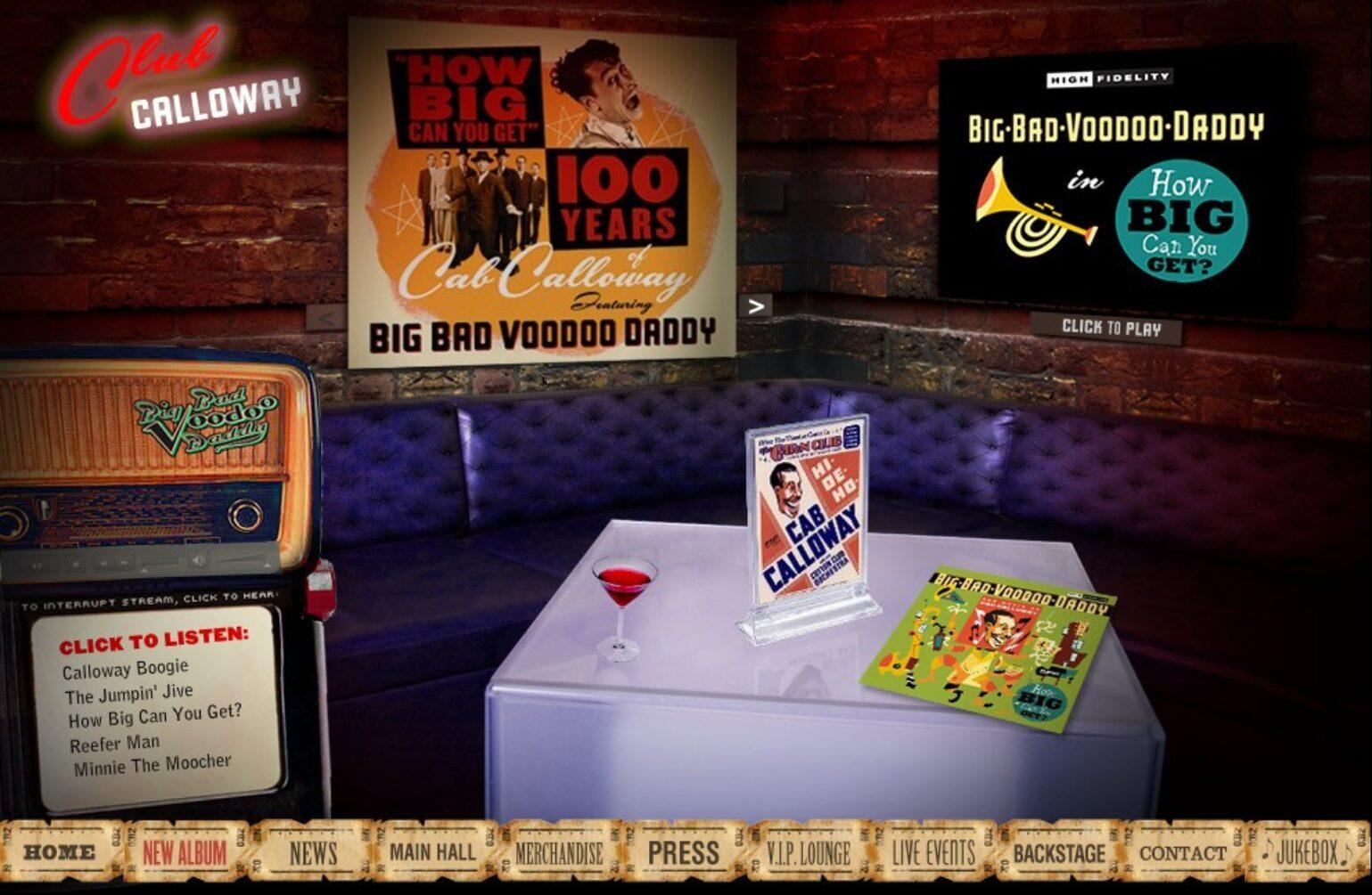 """Big Bad Voodoo Daddy """"Club Calloway"""""""