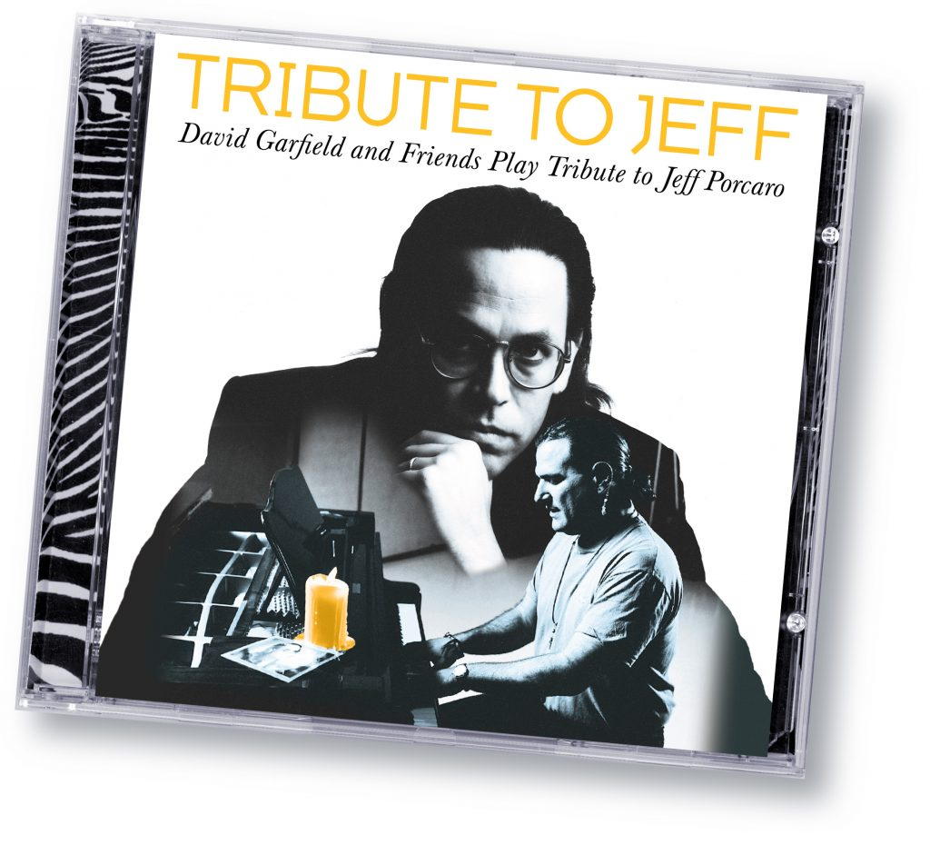 "David Garfield ""Tribute To Jeff"" (Zebradisc) - Art Direction and Design by Eric Scott (Day For Night) in association with WorldWest Communications"