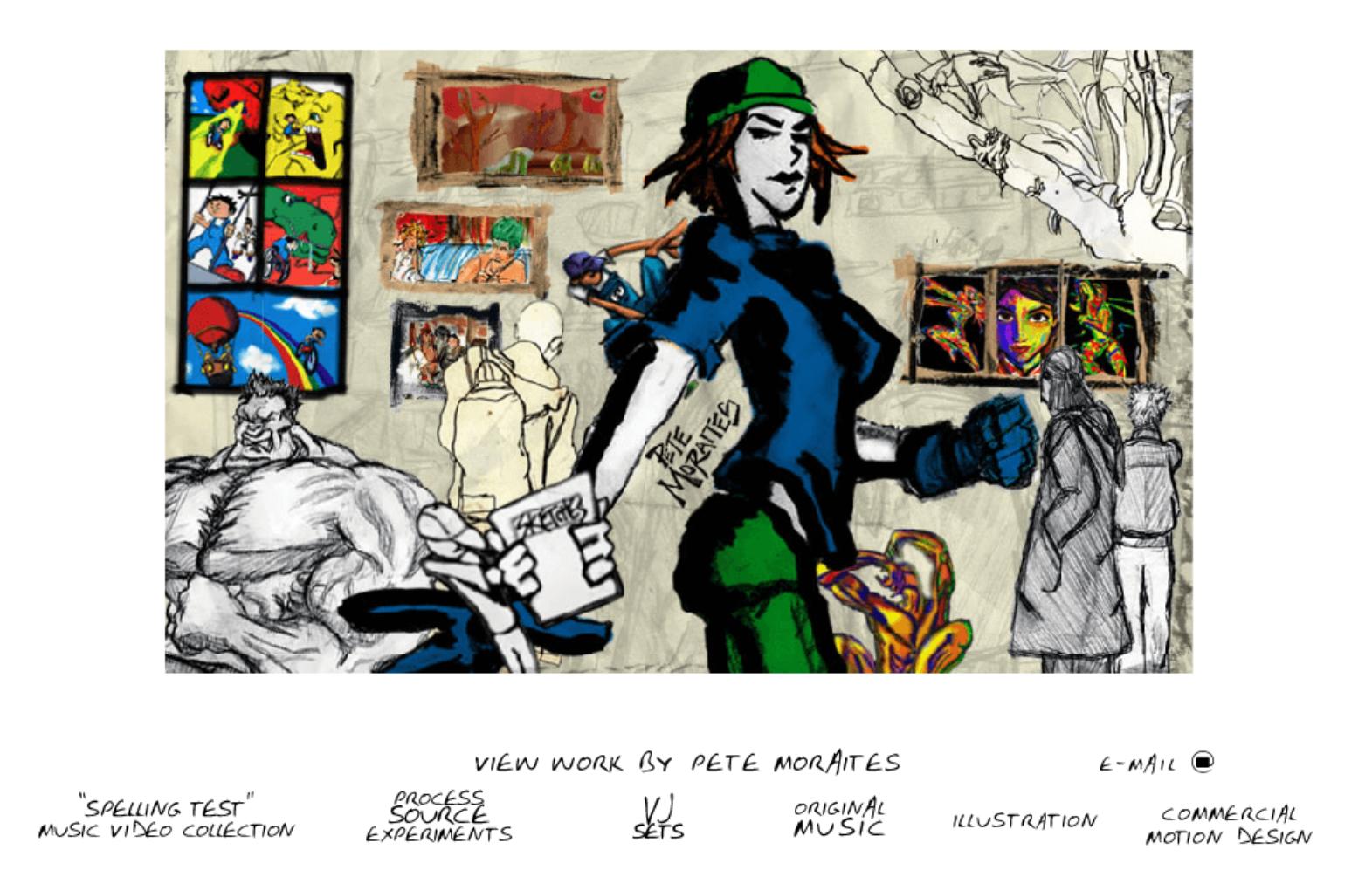 """Peter Moraites """"Sketchbook"""""""