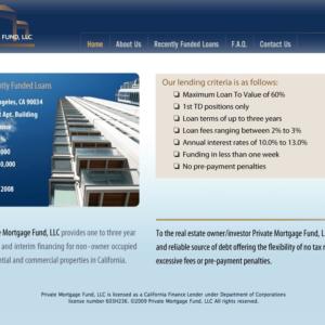 Private Mortgage Fund LLC