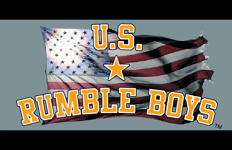 Rumble Boys.com - Art Direction, Design & Digital Strategy by Eric Scott (Day For Night) with Toni O'Bryan