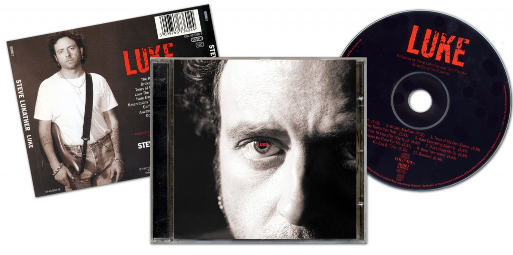 "Steve Lukather ""LUKE"" - Design & Art Direction by Eric Scott (Day For Night)"