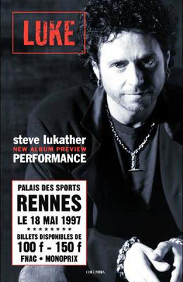 Steve Lukather_Luke Rennes_poster