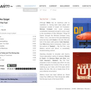 """Swim~ """"Millennium Screensaver"""""""