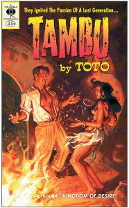 "Toto ""Tambu"" Paperback book - Design & Art Direction by Eric Scott (Day For Night), Painting by Daniel Brereton"
