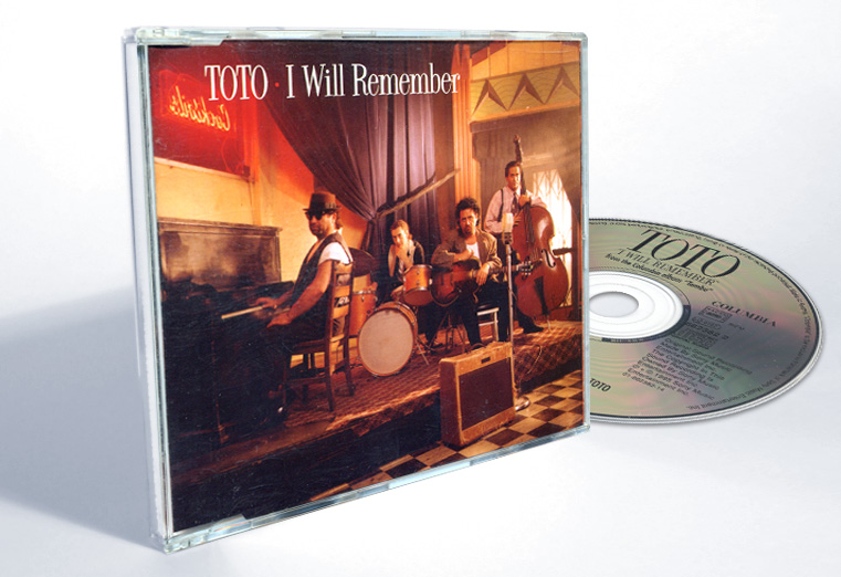 "Toto ""I Will Remember"" - CD-s release - Design & Art Direction by Eric Scott (Day For Night)"