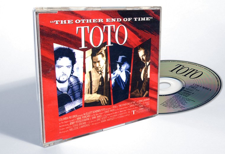"Toto ""The Other End Of Time"" - CD-s release - Design & Art Direction by Eric Scott (Day For Night)"