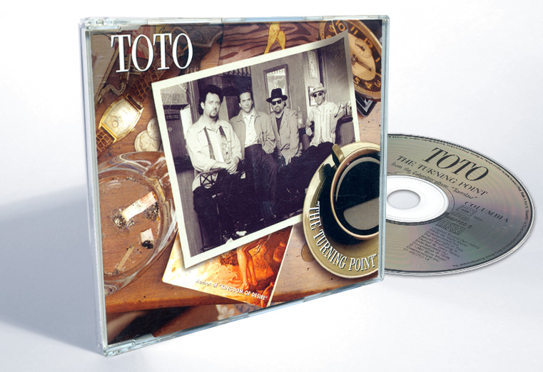 "Toto ""The Turning Point"" - CD-s release - Design & Art Direction by Eric Scott (Day For Night)"