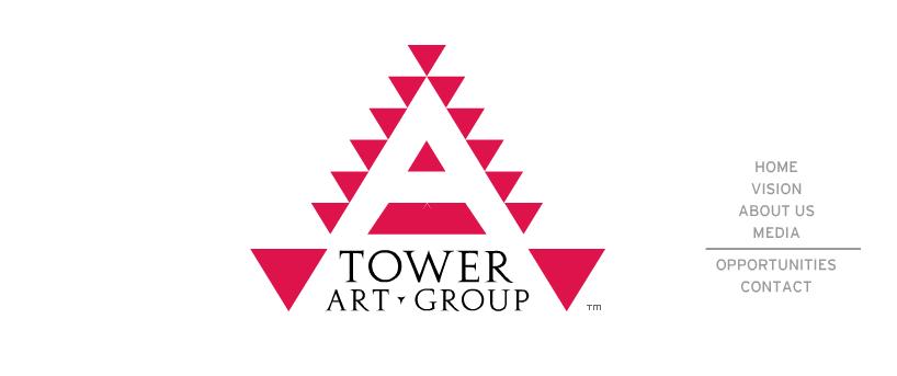 Tower Art Group – Branding & Identity, Design and Custom Site Development by Eric Scott (Day For Night)