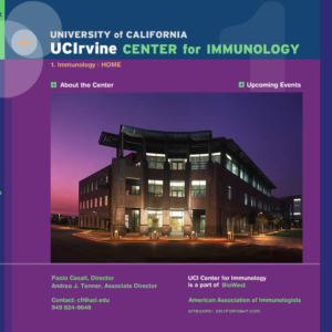 UC Irvine Center For Immunology Sitework