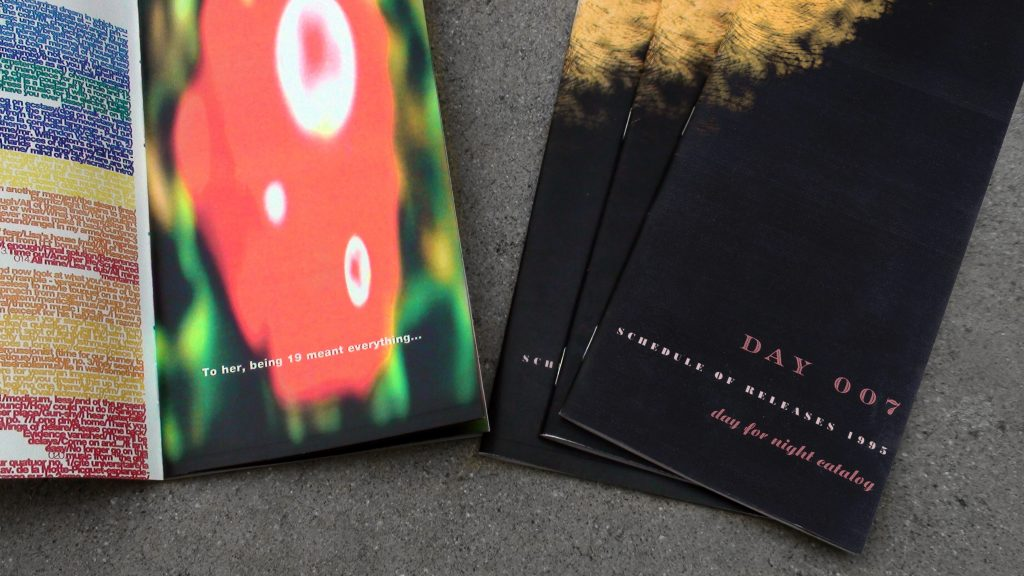 "Day 007 ""Catalogue"" Original Print Brochure - Art Direction by Eric Scott"