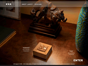 "Andy Lakey ""Design"" Custom Gallery Site"