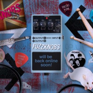 Fuzzknobs-homepage