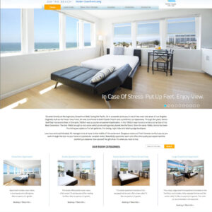 Air In Venice :: Beach Hotel Site – Case Study