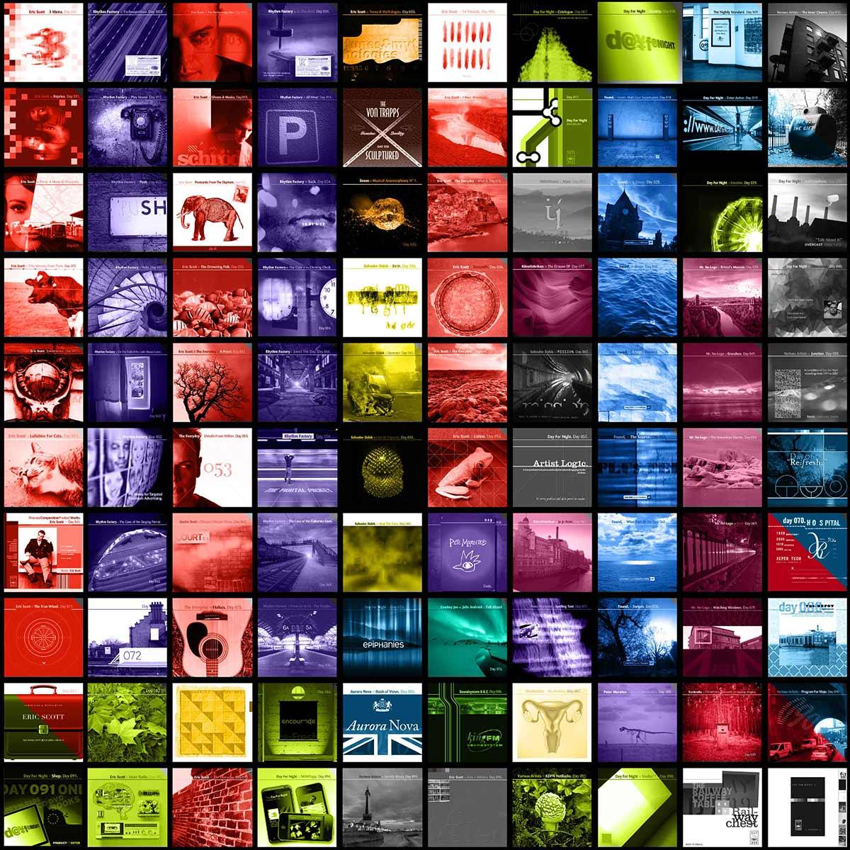 The DFN Bandcamp EPs :: før001 - før100.
